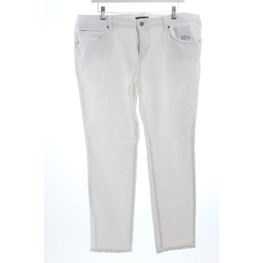 esprit jeans wei klassischer stil damen gr de 46 wei ebay. Black Bedroom Furniture Sets. Home Design Ideas