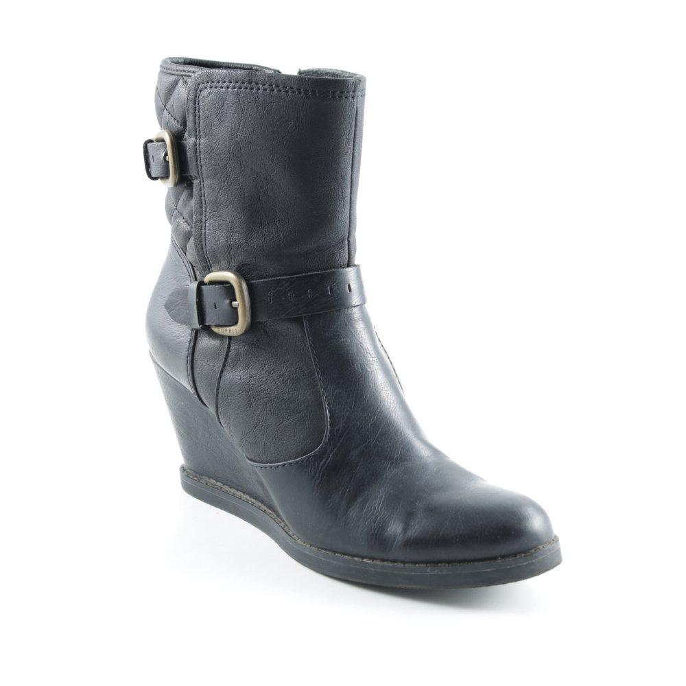HOGAN schwarz Reißverschluss-Stiefeletten schwarz HOGAN Casual-Look Damen Gr. DE 40 botaies a51648