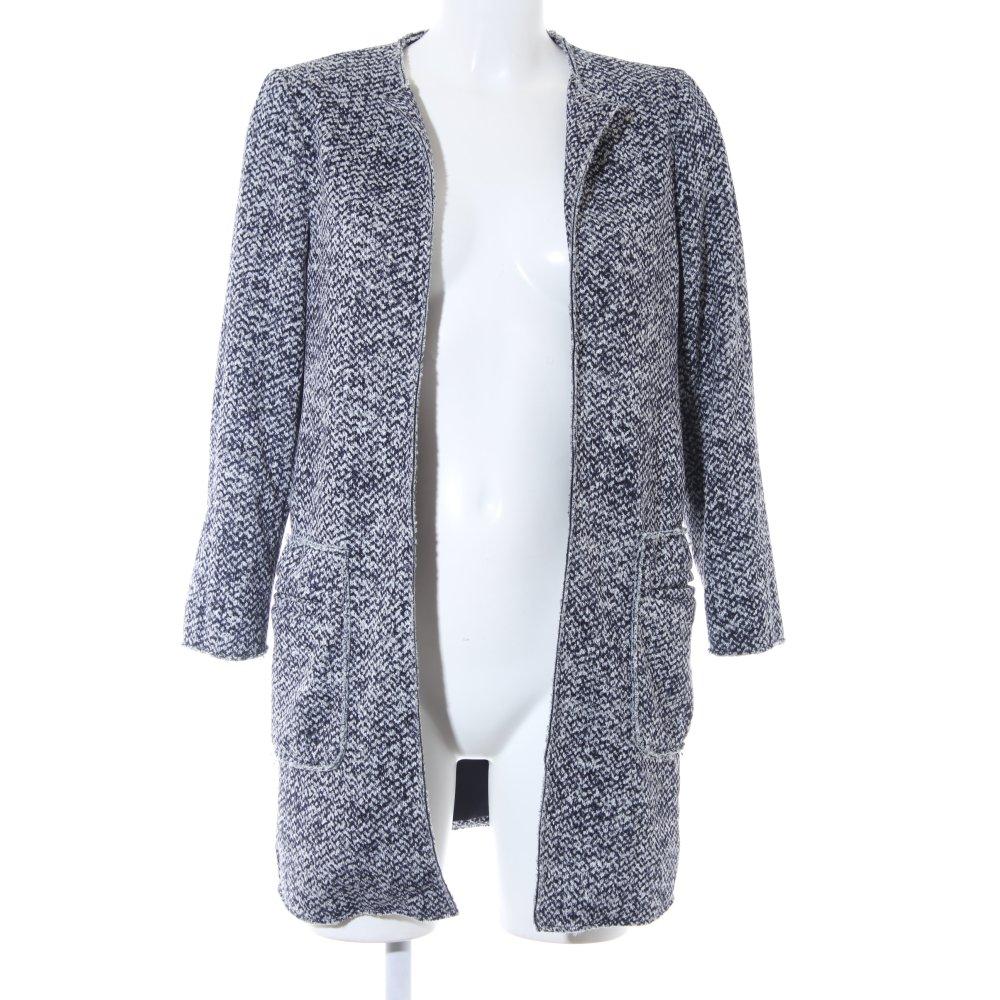 Abrigo casual de azul ESPRIT Detalles Mujeres Talla 34 look moteado EU corto oscuro Rj534AL