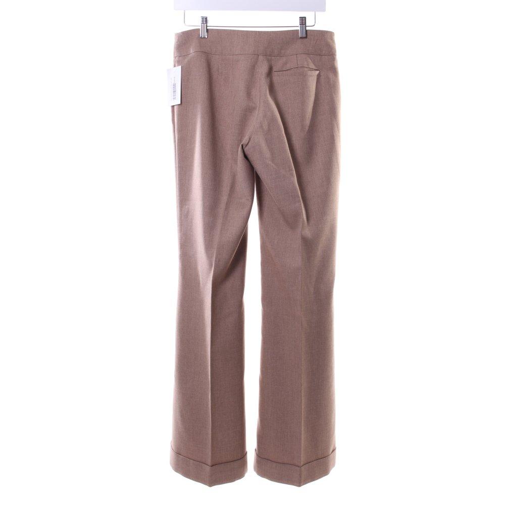 esprit marlene trousers camel business style women s size uk 10. Black Bedroom Furniture Sets. Home Design Ideas