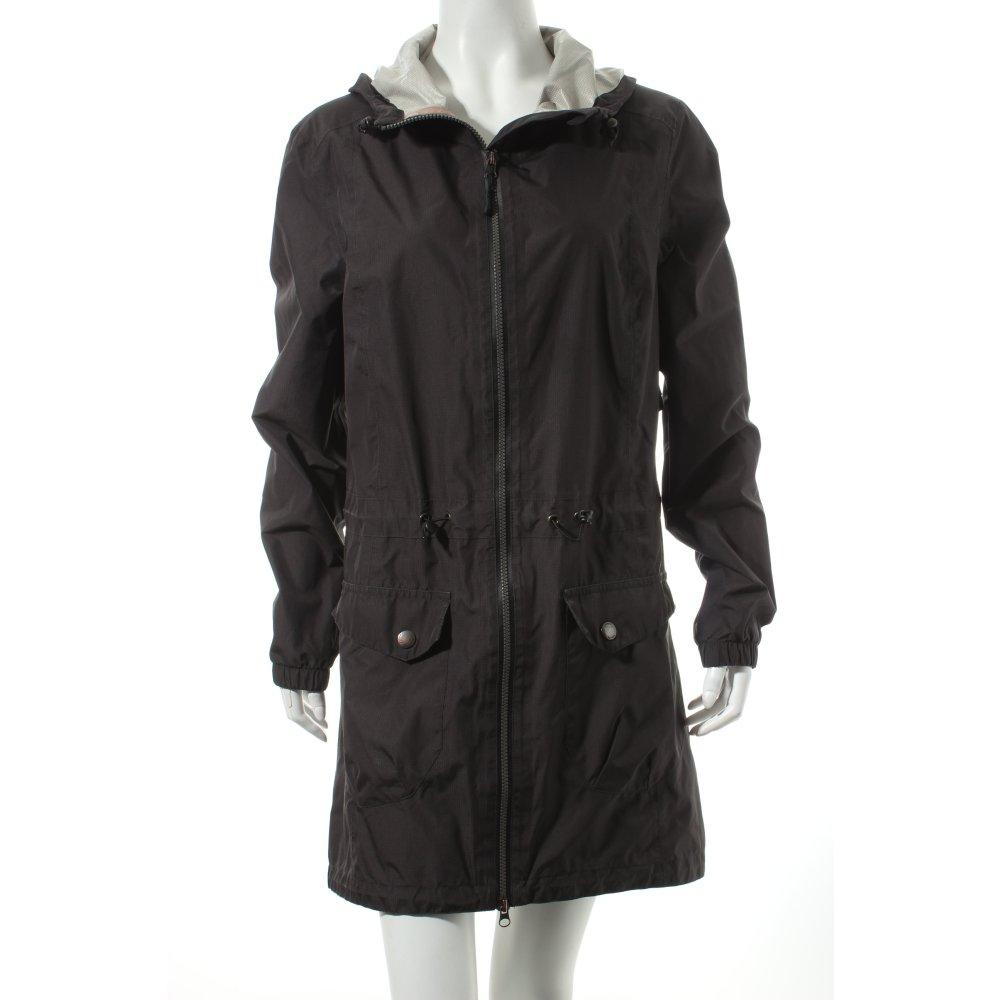 esprit raincoat black simple style women s size uk 10 jacket ebay. Black Bedroom Furniture Sets. Home Design Ideas