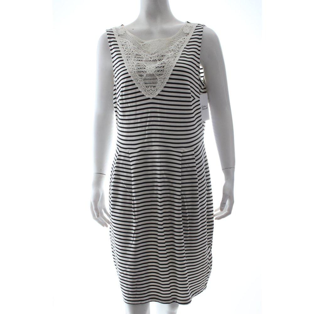 esprit pinafore dress white black striped pattern classic style women s ebay. Black Bedroom Furniture Sets. Home Design Ideas