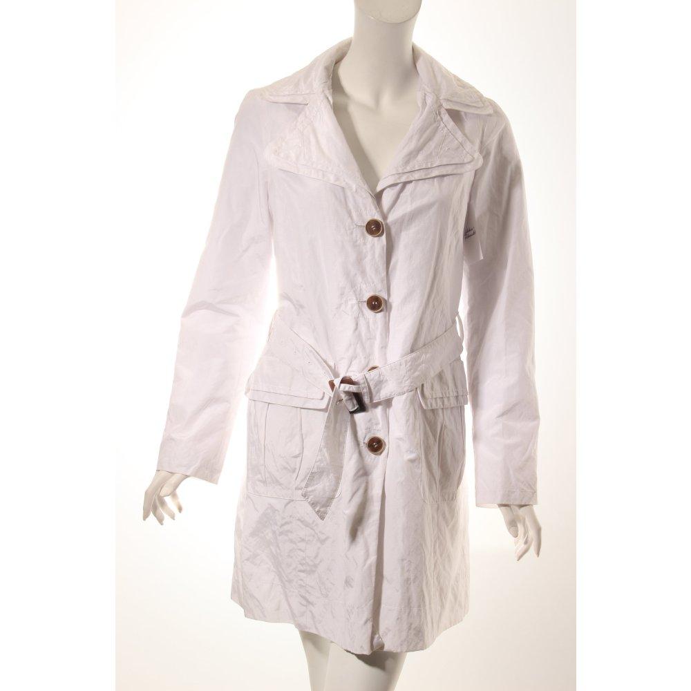 esprit trenchcoat wei damen gr de 36 wei mantel coat. Black Bedroom Furniture Sets. Home Design Ideas