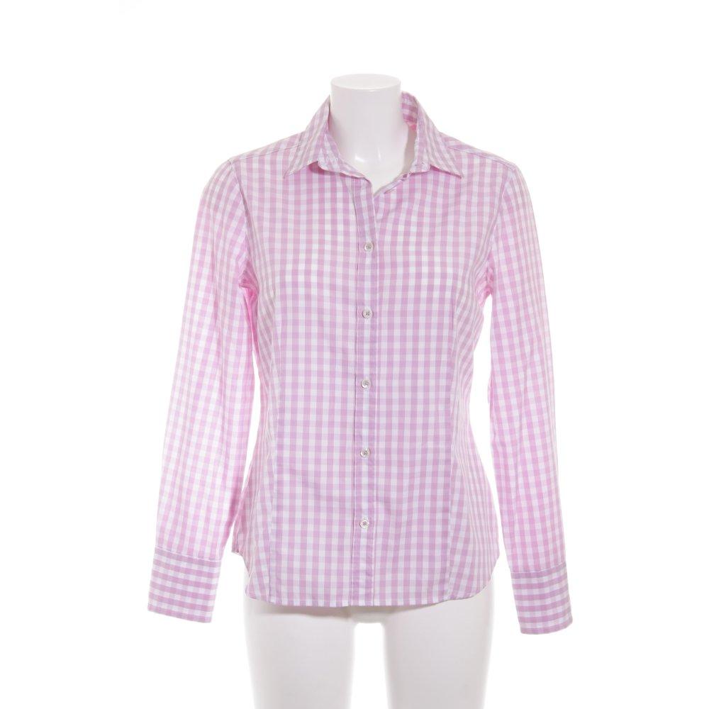 Eterna blusa de manga larga blanco rosa estampado a for Cuadros estilo clasico