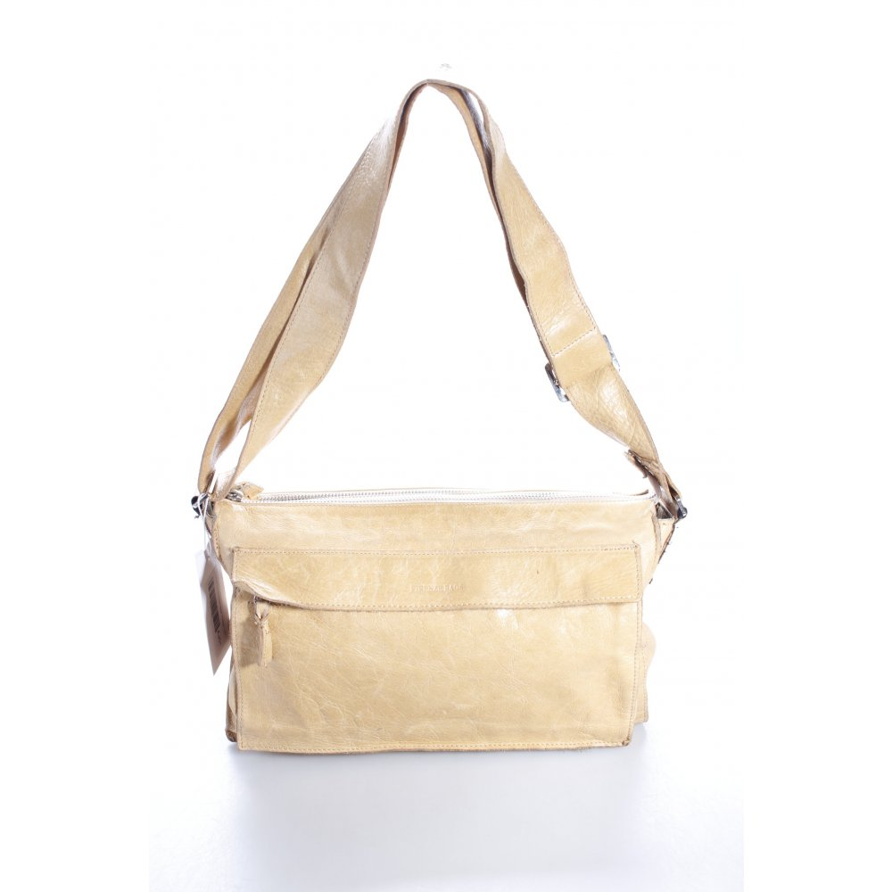 firenze handtasche beige vintage look damen tasche bag handbag ebay. Black Bedroom Furniture Sets. Home Design Ideas