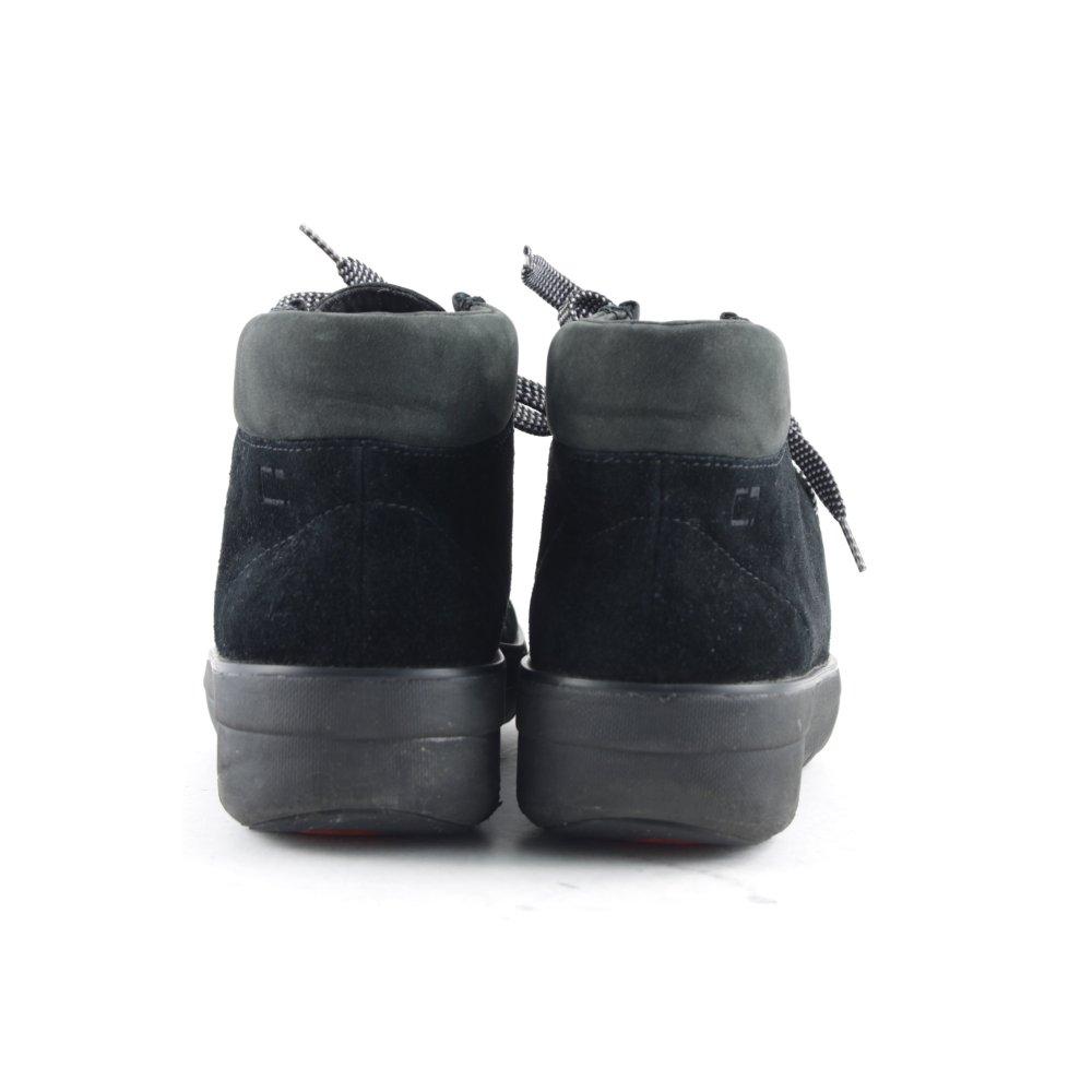 Fitflop schn r stiefeletten schwarz klassischer stil damen for Klassischer stil