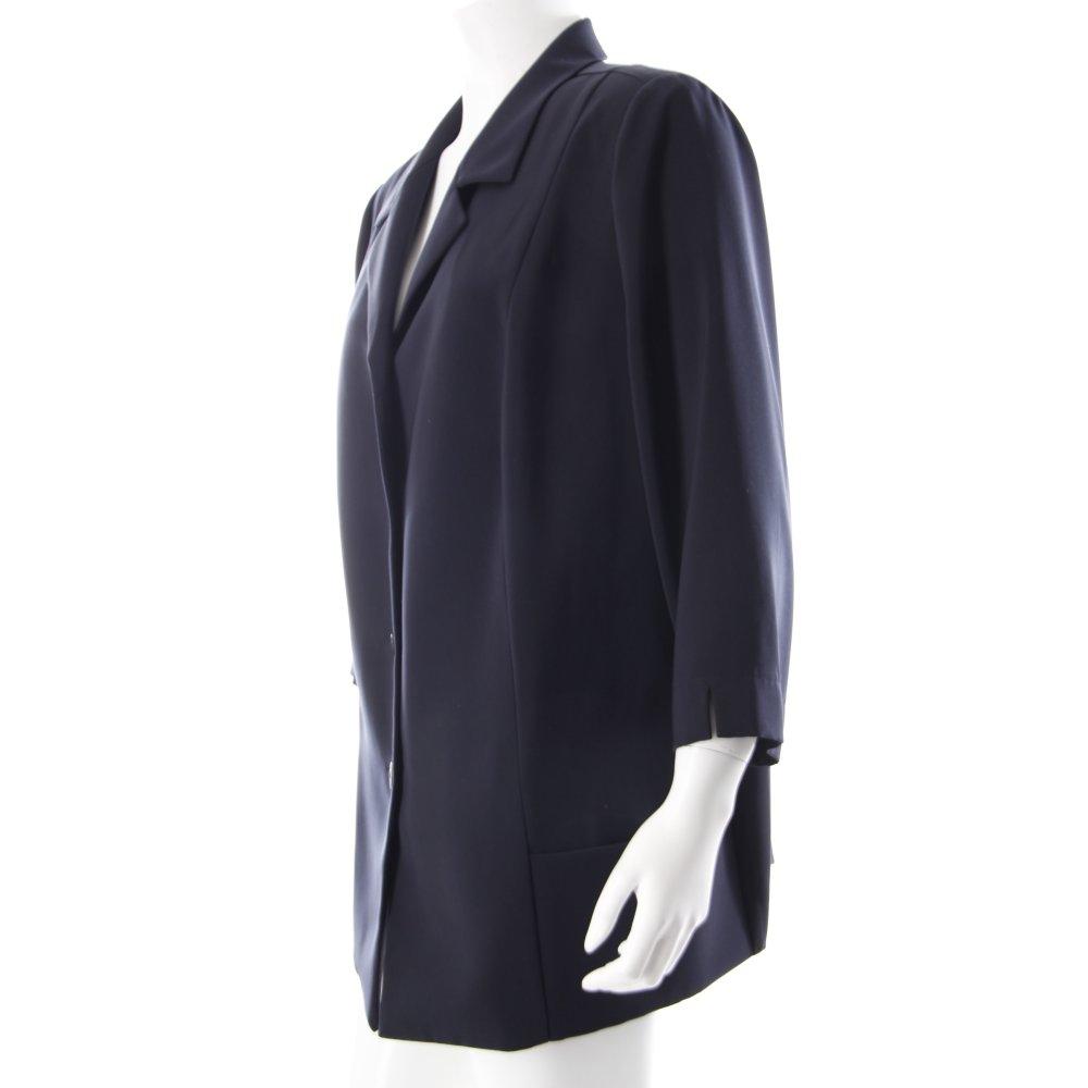 frankenw lder blazer dunkelblau klassischer stil damen gr