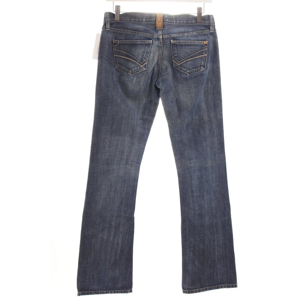 freeman t porter boot cut jeans dark blue natural white. Black Bedroom Furniture Sets. Home Design Ideas