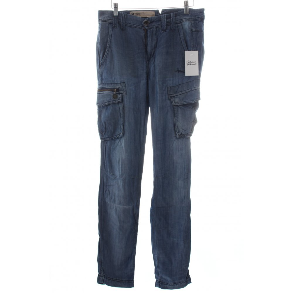 freeman t porter cargo pants cornflower blue athletic style women s size uk 6 ebay. Black Bedroom Furniture Sets. Home Design Ideas