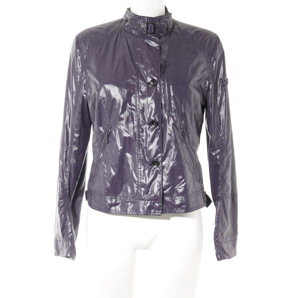 Details zu FRIEDA & FREDDIES NEW YORK Softshelljacke dunkelviolett Casual Look Damen Jacke