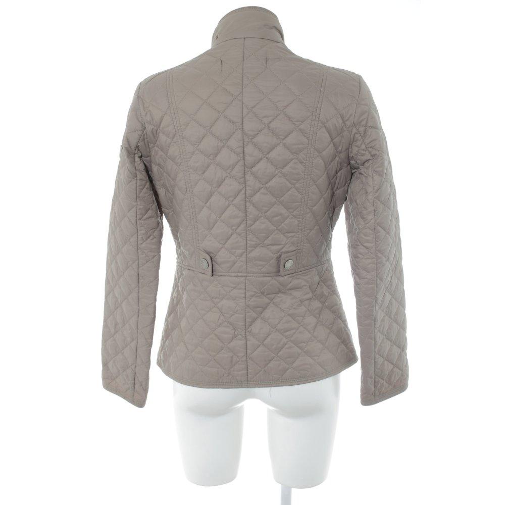 Details zu FRIEDA & FREDDIES NEW YORK Übergangsjacke graubraun Casual Look Damen Gr. DE 36