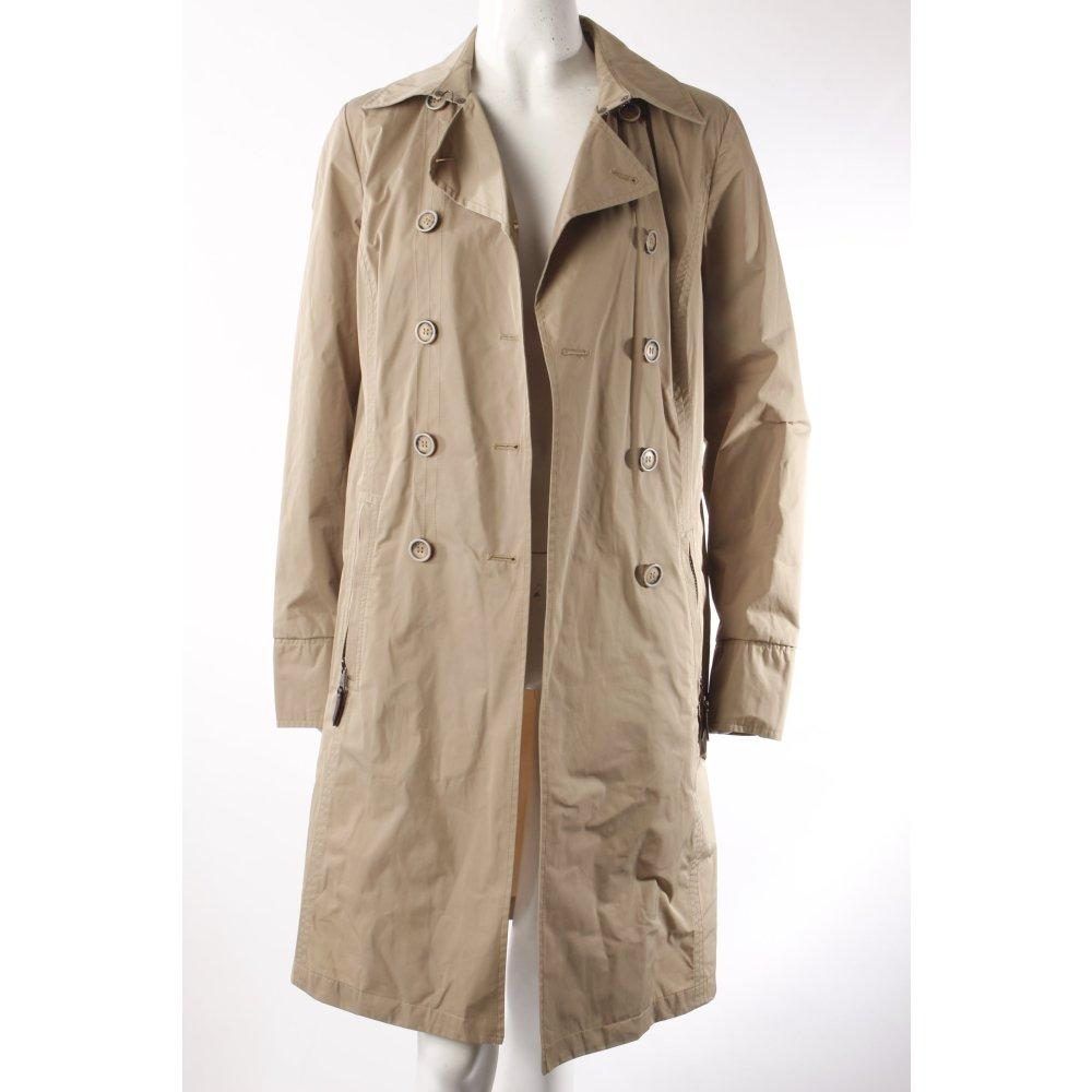 fuchs schmitt mantel beige damen gr de 38 coat ebay. Black Bedroom Furniture Sets. Home Design Ideas