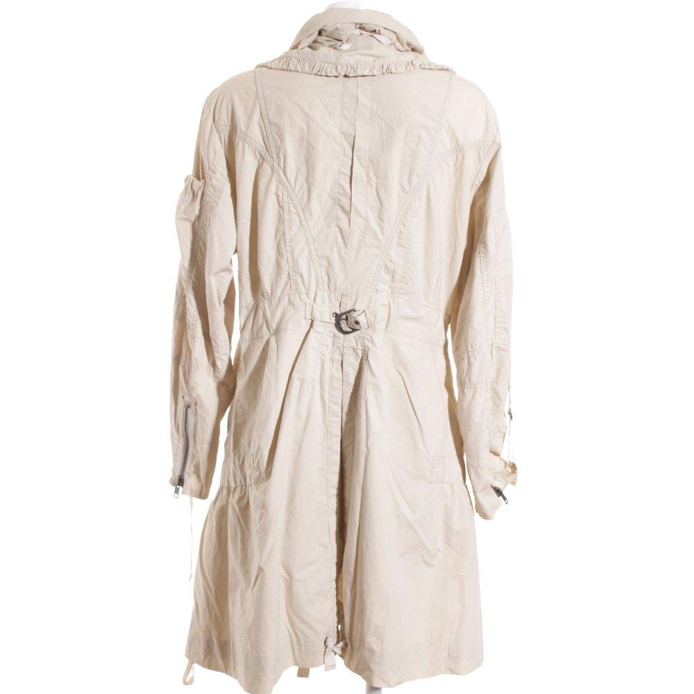 fuchs schmitt parka oatmeal athletic style women s size uk 16 jacket cotton ebay. Black Bedroom Furniture Sets. Home Design Ideas