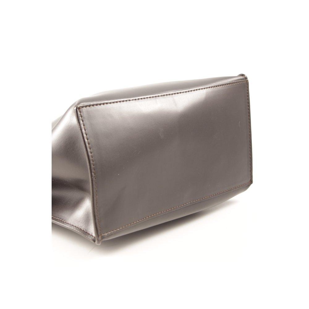 FURLA Borsetta marrone scuro-argento elegante Donna Borsa  6ef848e60f6