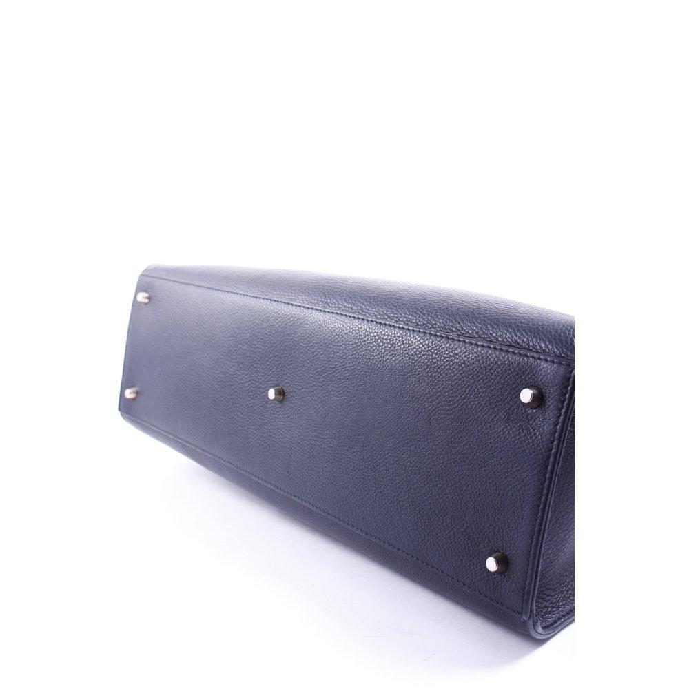 Furla tote schwarz klassischer stil damen tasche bag ebay for Klassischer stil