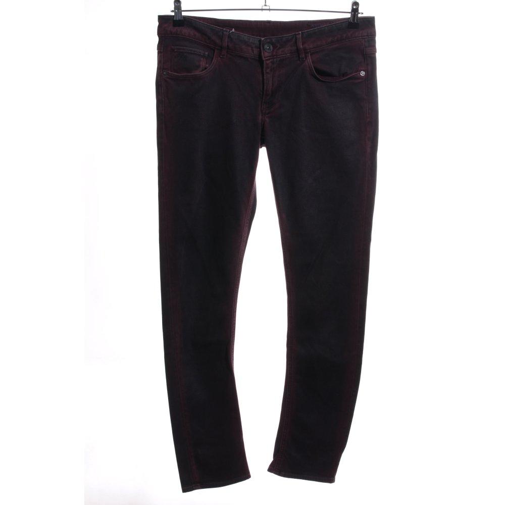 Détails sur G STAR RAW Jeans slim brun gradient de couleur style décontracté Dames T 44