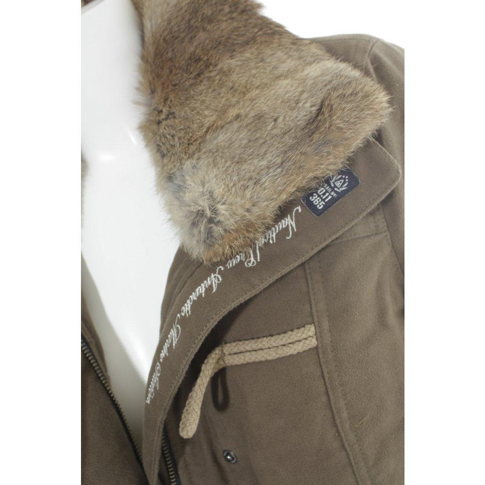 Details zu GAASTRA Dufflecoat khaki Casual Look Damen Gr. DE 38 Mantel Coat Baumwolle