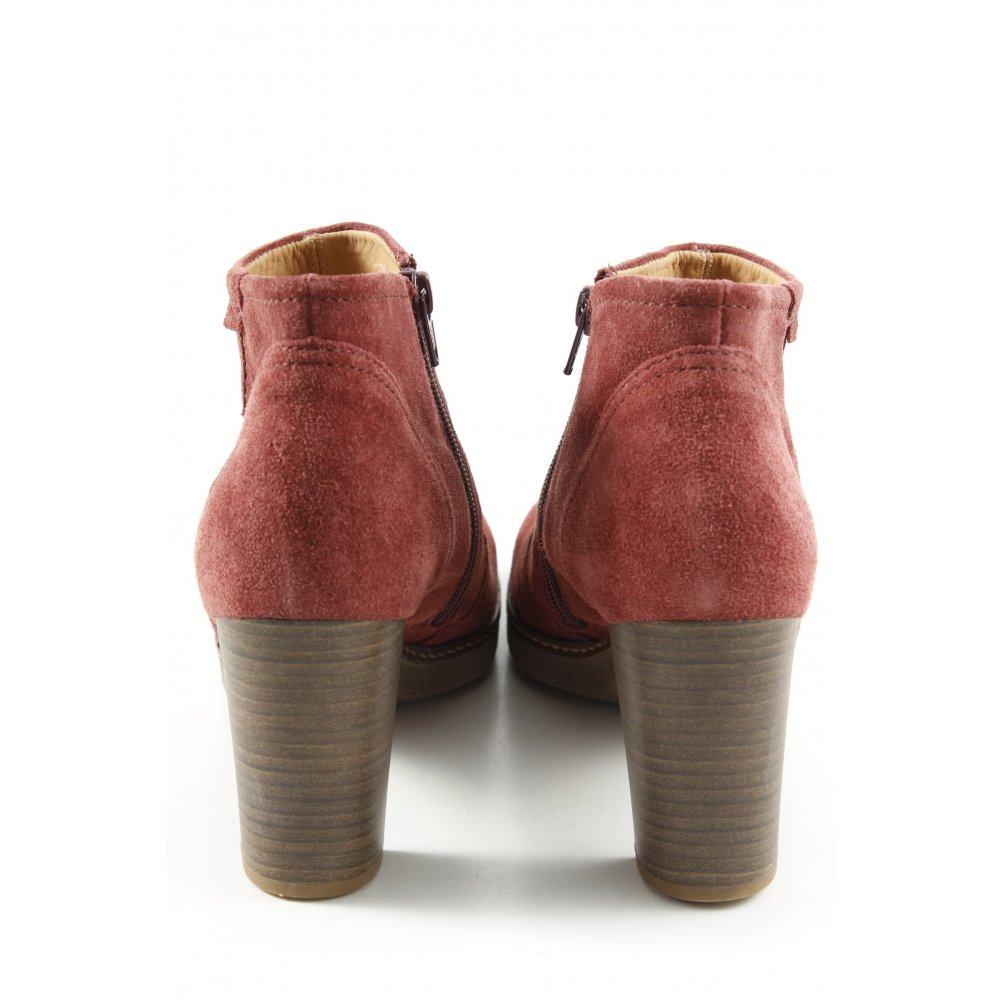 Détails sur GABOR Low boot rouge style décontracté Dames T 39 Botte Chaussures pour femmes