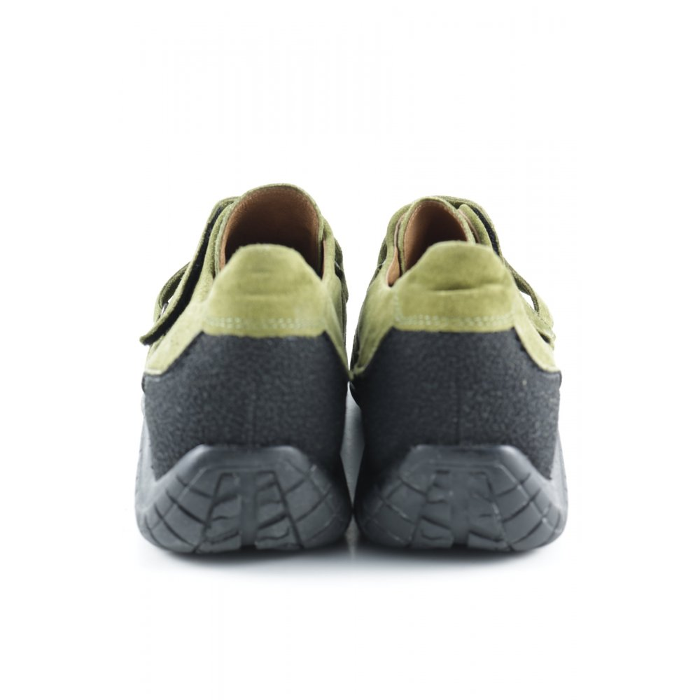 gabor sneaker klettverschluss jollys damen gr de 40. Black Bedroom Furniture Sets. Home Design Ideas