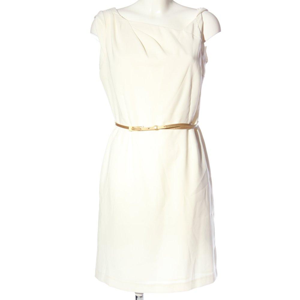 Gdm Robe Mi Longue Blanc Style D Affaires Dames T 42 Ebay