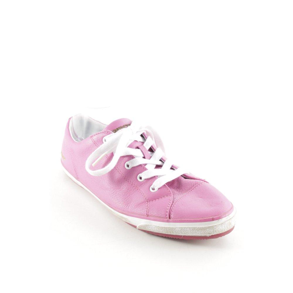 GEOX RESPIRA Sneaker stringata rosa bianco stile atletico Donna Taglia IT 40