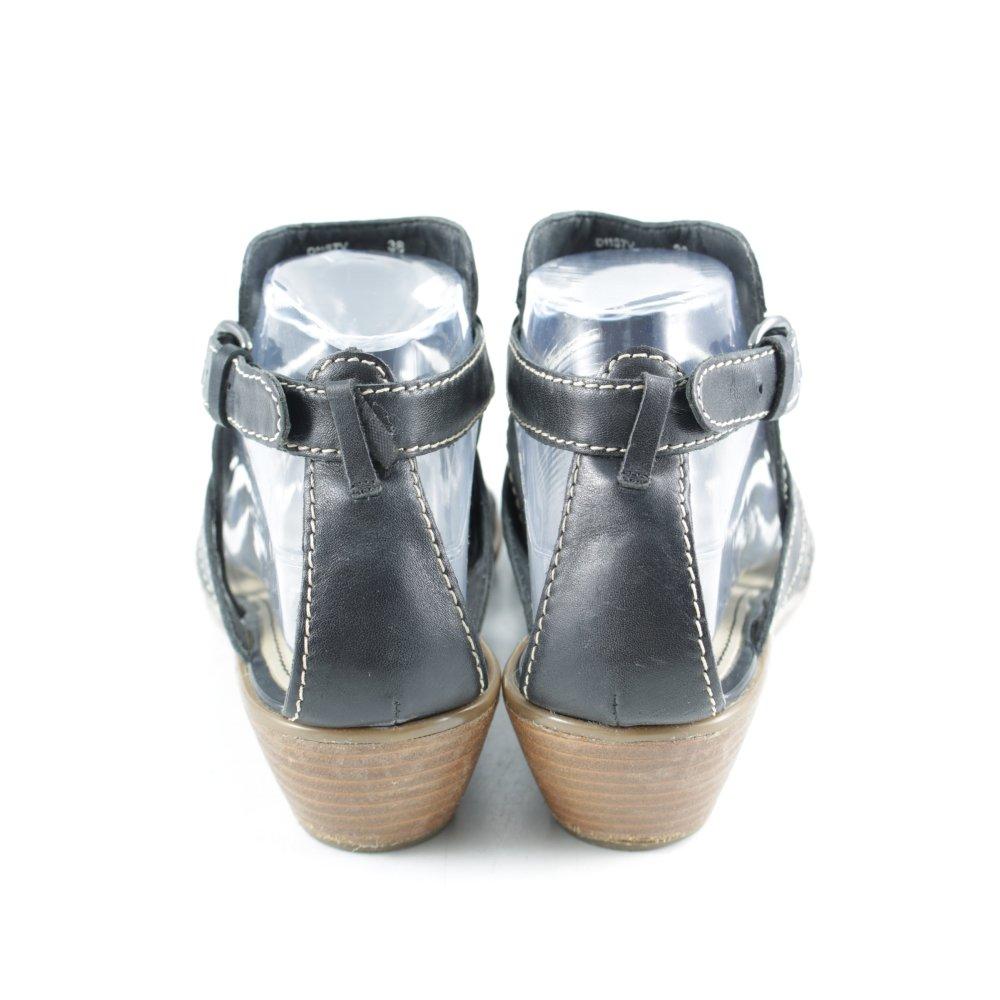 Sandales à plateforme brun Geox