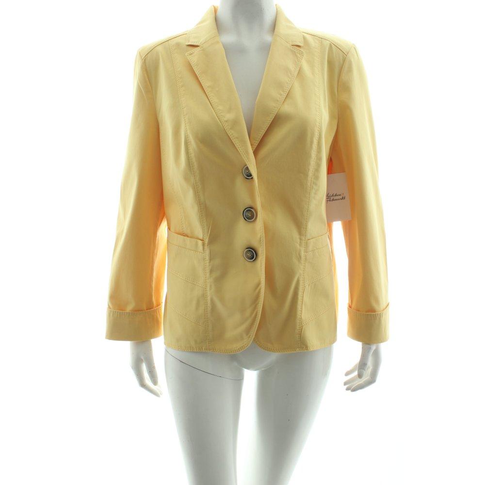 gerry weber blazer yellow casual look women s size uk 12 ebay. Black Bedroom Furniture Sets. Home Design Ideas