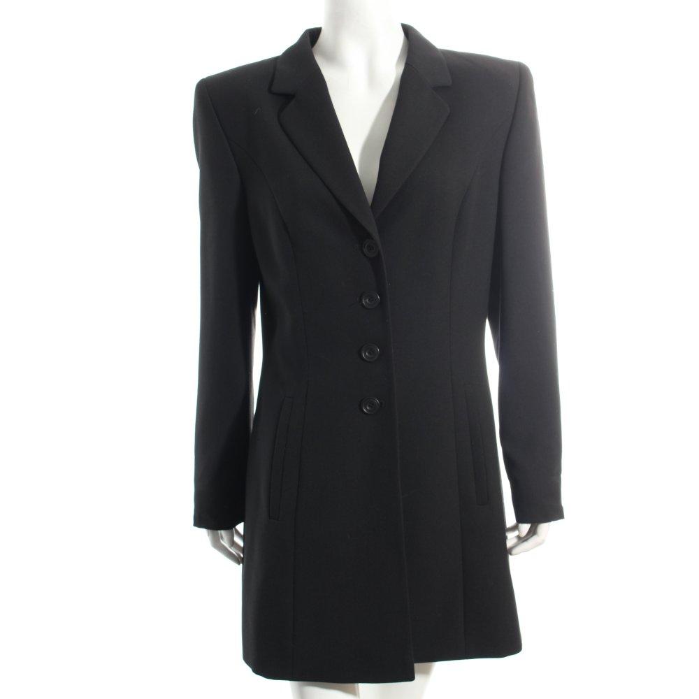 Gil bret mantel schwarz klassischer stil damen gr de 38 for Klassischer stil
