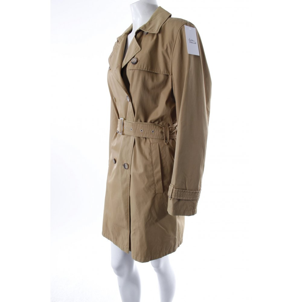gil bret trenchcoat beige damen gr de 40 mantel coat trench coat ebay. Black Bedroom Furniture Sets. Home Design Ideas
