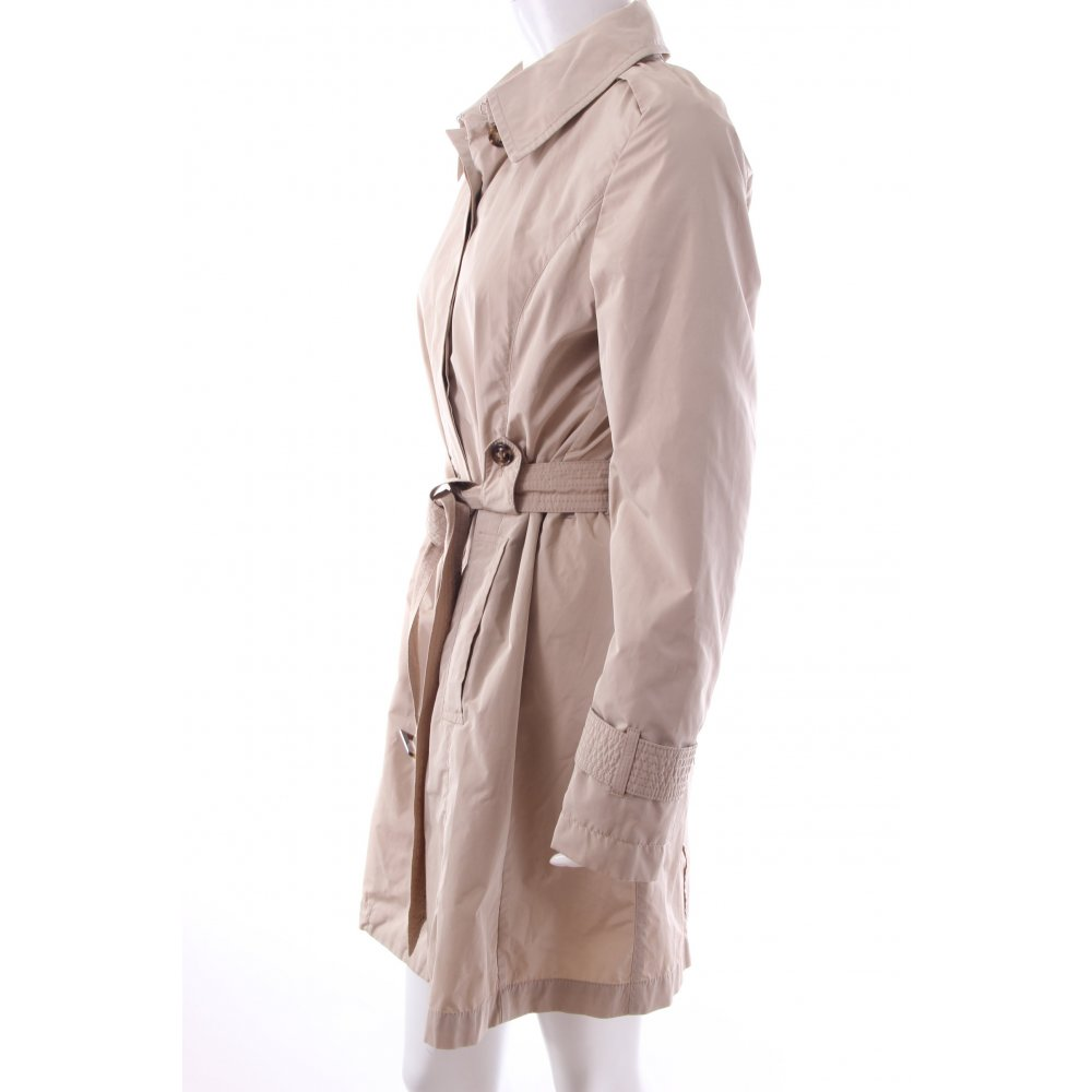 gil bret trenchcoat beige damen gr de 36 mantel coat trench coat ebay. Black Bedroom Furniture Sets. Home Design Ideas