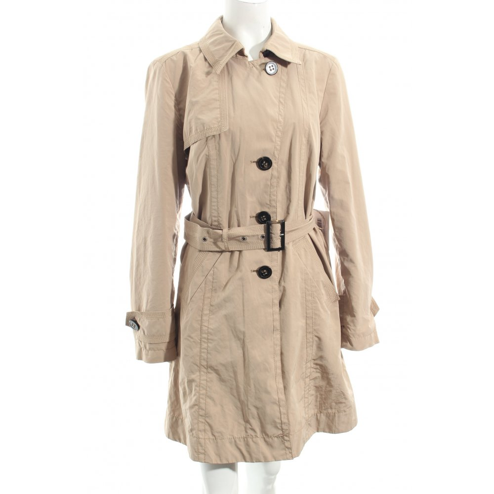 gil bret trenchcoat beige klassischer stil damen gr de 38 mantel coat ebay. Black Bedroom Furniture Sets. Home Design Ideas