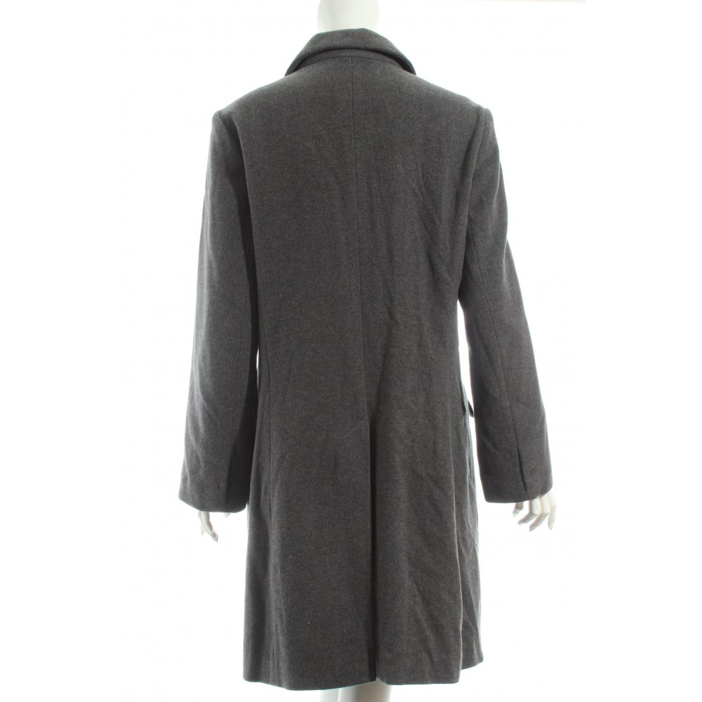 giorgio wollmantel grau casual look damen gr de 38 mantel coat wool coat ebay. Black Bedroom Furniture Sets. Home Design Ideas