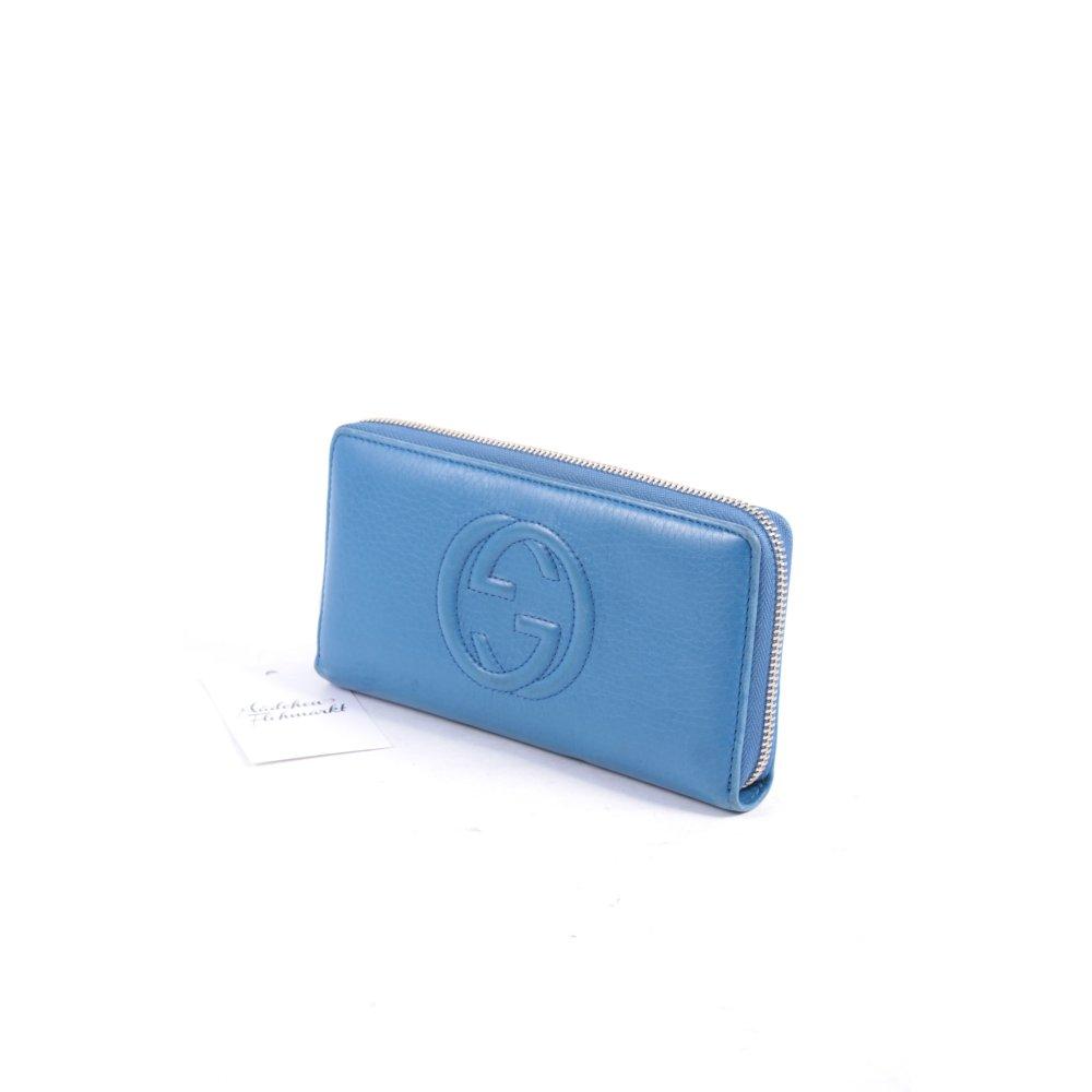 gucci geldb rse blau klassischer stil damen tasche bag. Black Bedroom Furniture Sets. Home Design Ideas