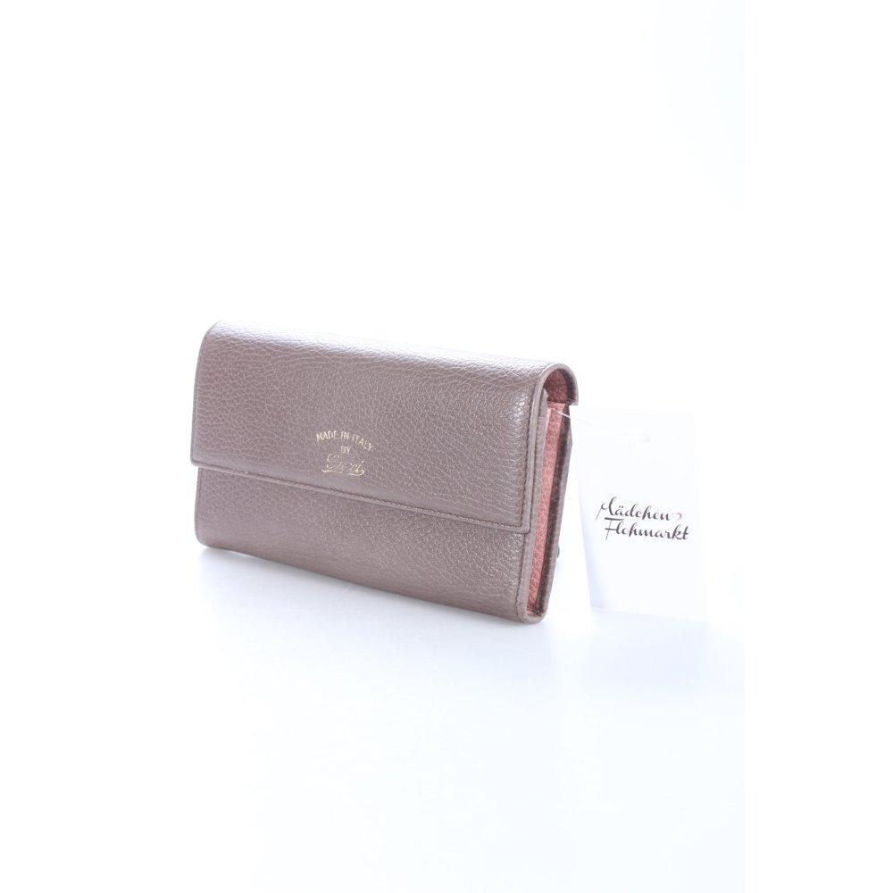 gucci geldb rse swing dollar leather wallet taupe damen. Black Bedroom Furniture Sets. Home Design Ideas