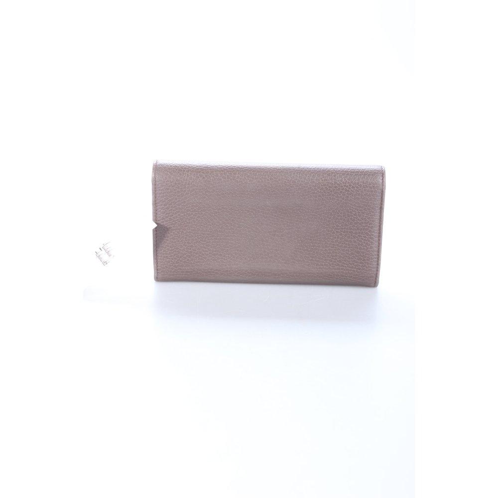 Gucci portemonnee swing dollar leather wallet taupe dames grijs bruin tas ebay - Taupe gekleurde ...