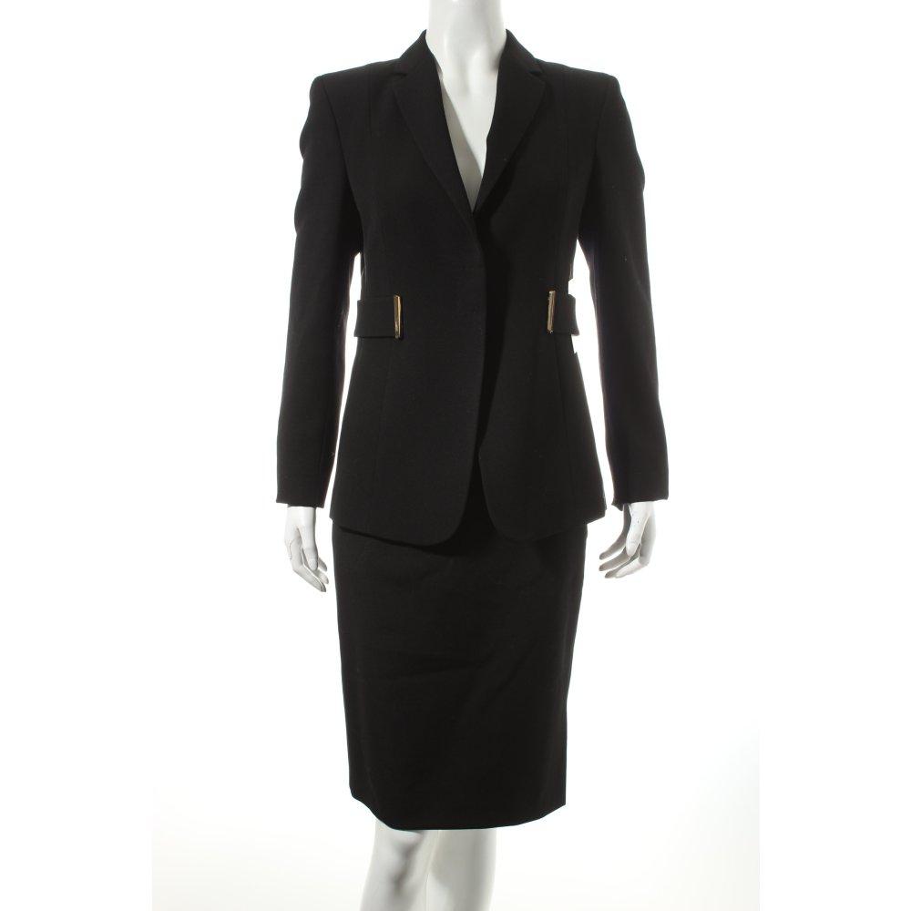 gucci kost m schwarz business look damen gr de 42 anzug. Black Bedroom Furniture Sets. Home Design Ideas