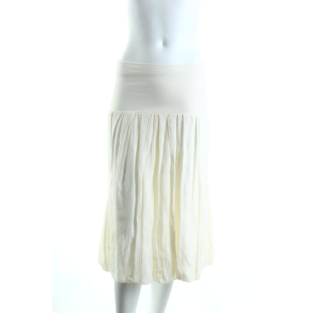 gudrun sj den stretchrock creme klassischer stil damen gr de 36 rock skirt ebay. Black Bedroom Furniture Sets. Home Design Ideas