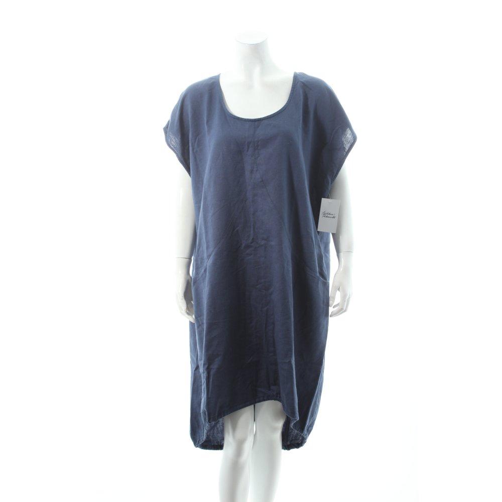 gudrun sj den tunikakleid blau damen gr de 42 kleid dress tunic dress ebay. Black Bedroom Furniture Sets. Home Design Ideas