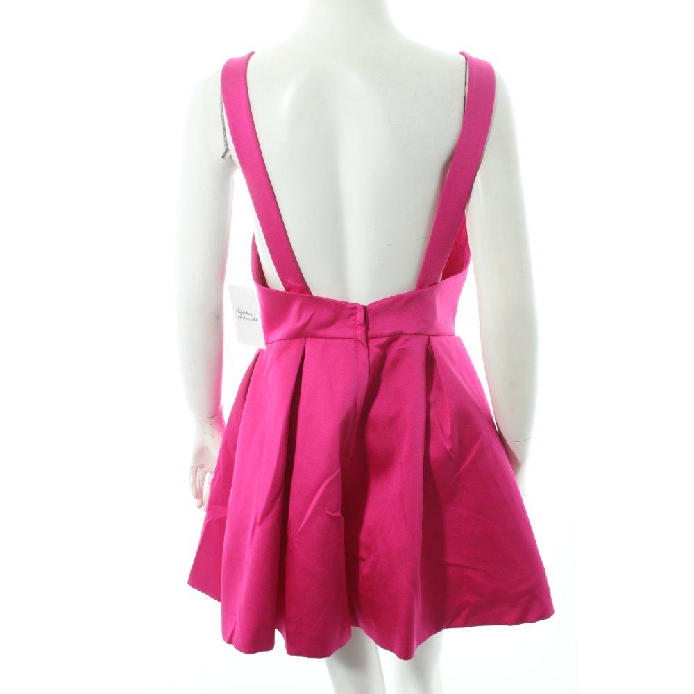 H&M Cocktailkleid magenta Party-Look Damen Gr. DE 38 Kleid Dress ...