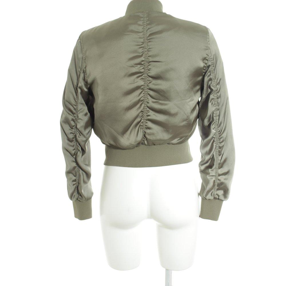 Dettagli su H&M Giacca bomber nero stile casual Donna Taglia IT 42