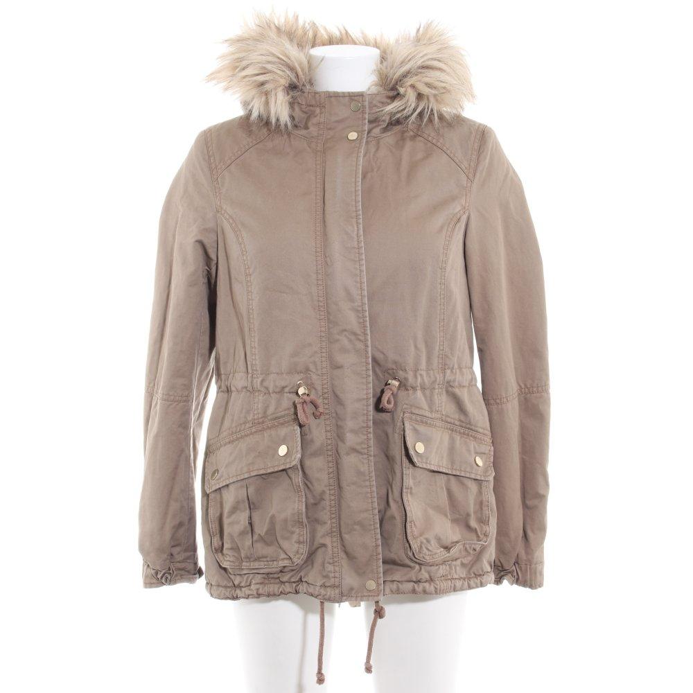 giacca antivento donna color cammello