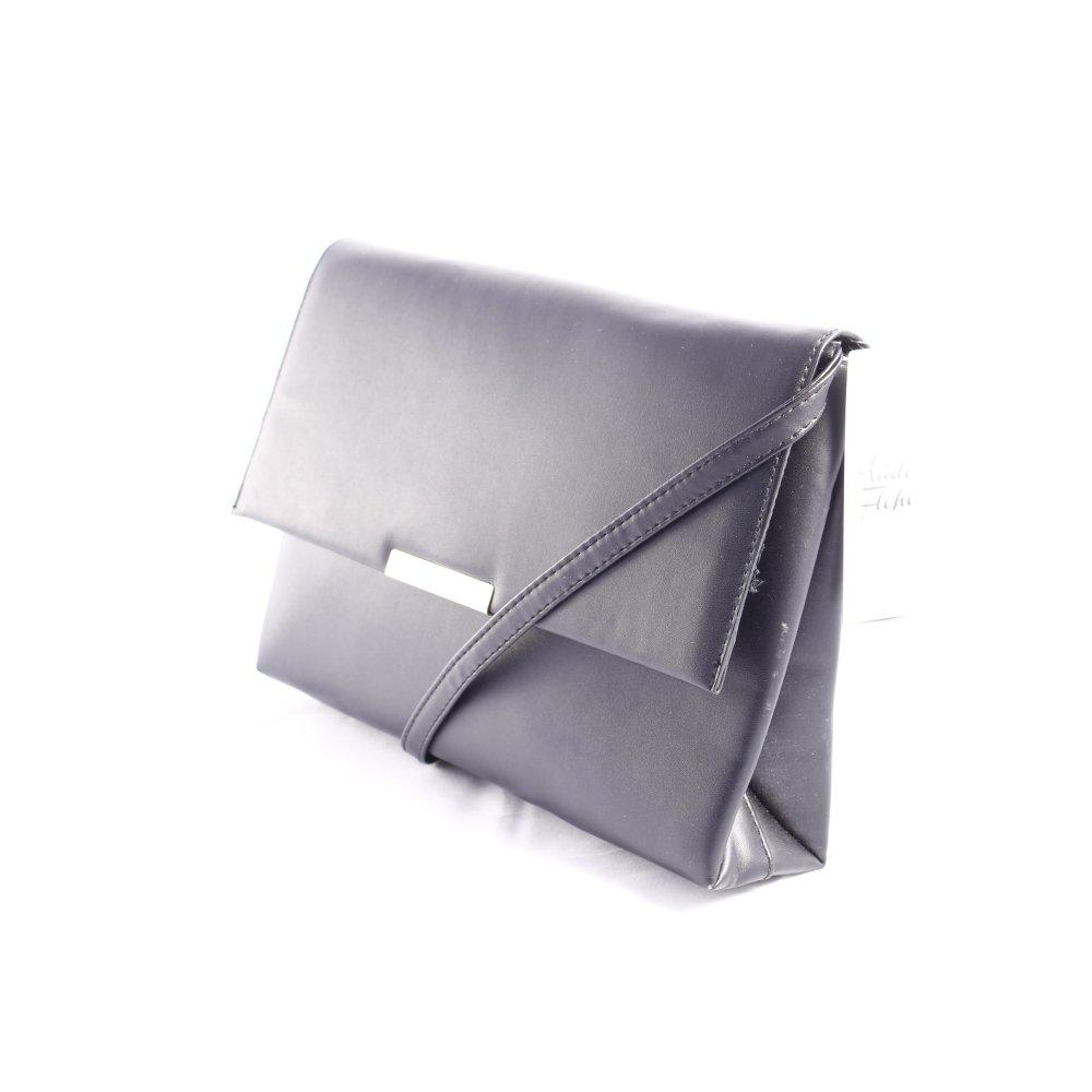 handtasche schwarz casual look damen tasche bag handbag ebay. Black Bedroom Furniture Sets. Home Design Ideas