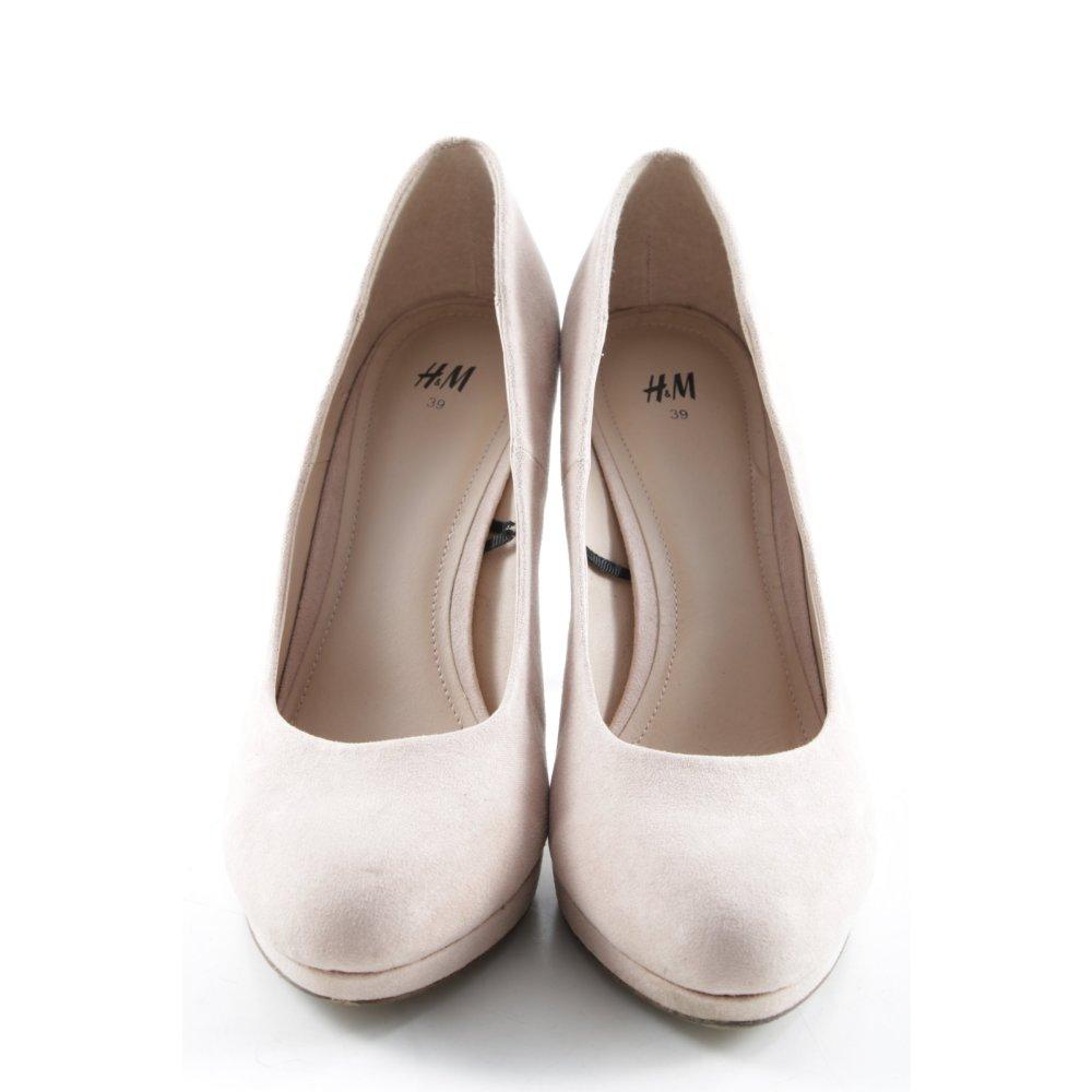 Details zu H&M High Heels altrosa Business Look Damen Gr. DE 39 Pumps Damenschuhe