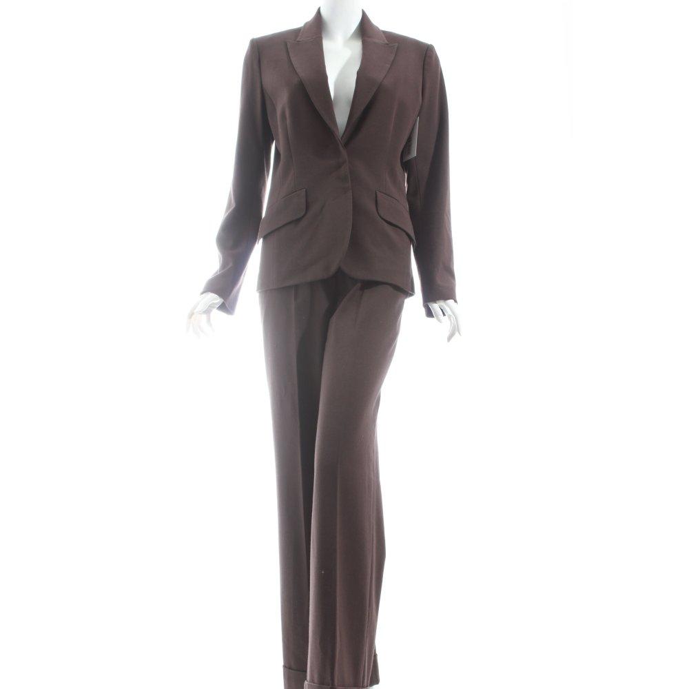 h m hosenanzug braun casual look damen gr de 38 anzug. Black Bedroom Furniture Sets. Home Design Ideas