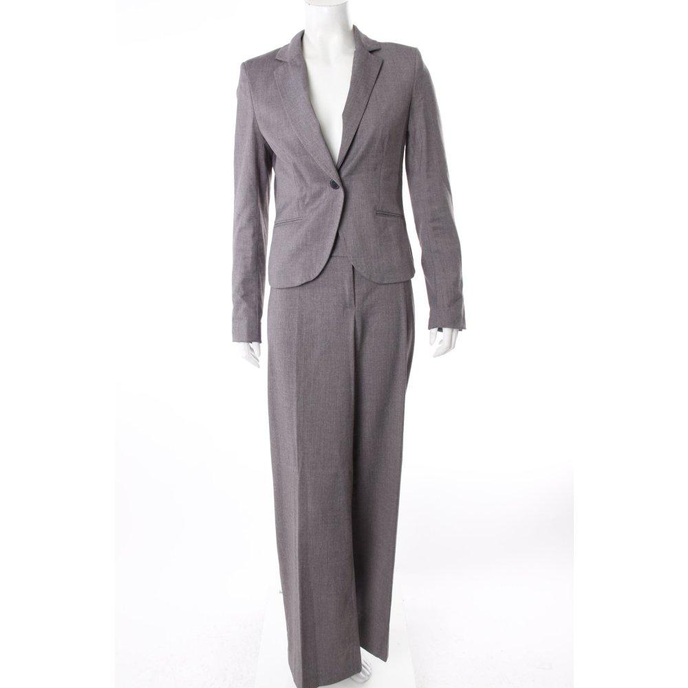 h m hosenanzug grau damen gr de 36 anzug suit trouser