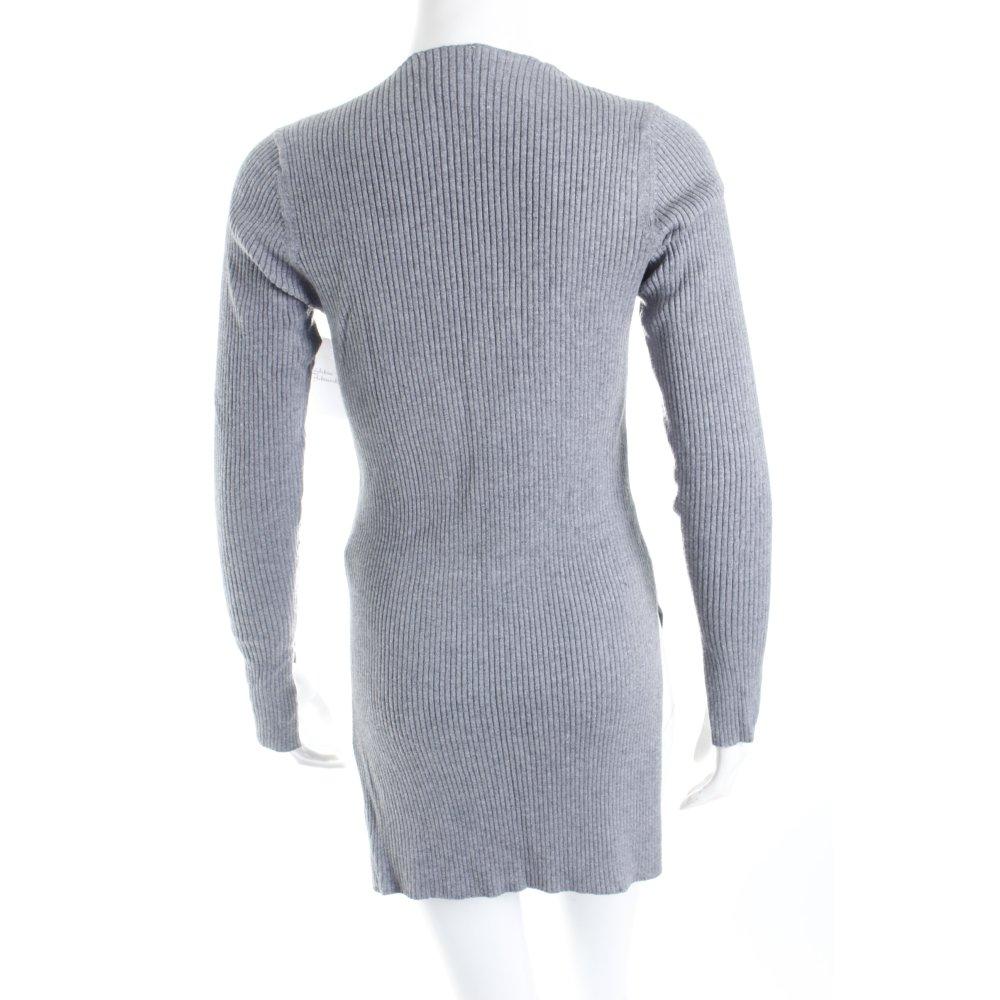 h m longpullover grau casual look damen gr de 36 pullover. Black Bedroom Furniture Sets. Home Design Ideas