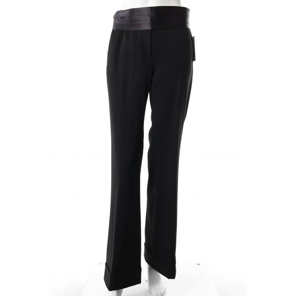 h m marlenehose schwarz damen gr de 36 hose trousers. Black Bedroom Furniture Sets. Home Design Ideas