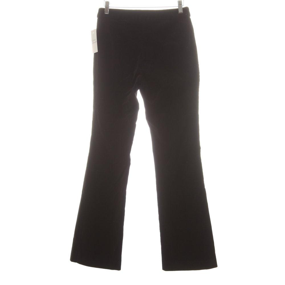 h m marlene trousers black elegant women s size uk 10 ebay. Black Bedroom Furniture Sets. Home Design Ideas