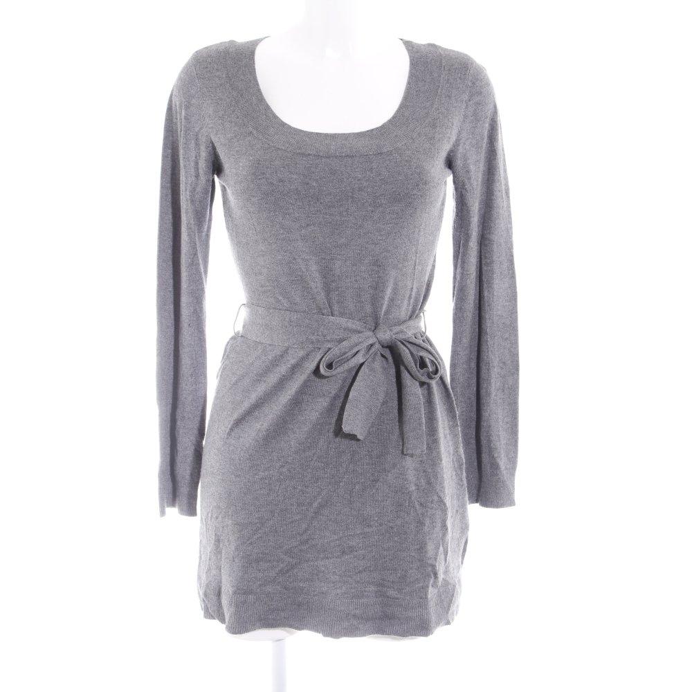 H M Robe Pull Gris Mouchete Style Decontracte Dames T 38 Ebay