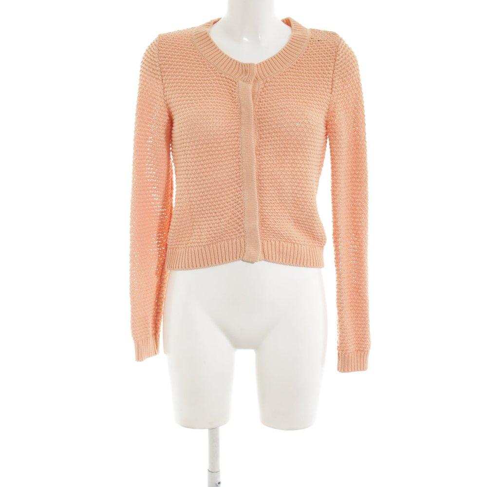 Dettagli su H&M Maglione lavorato a maglia arancione chiaro stile casual Donna Taglia IT 42